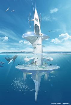 Colossal SeaOrbiter Research Ocean Skyscraper To Begin Construction In 2012