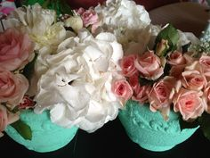 Vintage heart christening flower arrangements Vintage Flower Arrangements, Vintage Flowers, Vintage Heart, Christening, Hearts, Events, Decorating, Rose, Decor