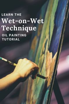 Wet-on-wet or alla prima is a fun technique to use that can yield striking results. It's also one of the most difficult techniques to master. Learn the ins and outs of this famous technique in this tutorial. #allaprima #wetonwet #oilpaintingtechnique #oilpaintingtutorial #paintingtechniques #oilpainting #oilpaintingtechniques #paintingtutorials #howtopaint #oilpainter Learn Art, Learn To Paint, Oil Painting Techniques, Oil Painters, Art Tips, Art Tutorials, Painting & Drawing, Improve Yourself, Fine Art