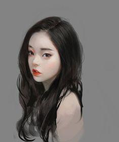 Anime Girl Drawings, Anime Art Girl, Character Portraits, Character Art, Bridal Makeup Looks, Digital Art Girl, Illustration Girl, Portrait Art, Beautiful