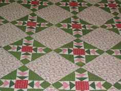 flying geese quilt | Antique Wild Geese Chase Quilt- Old Quilt Company