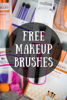 New Sample Alert: Real Techniques Makeup Brushes! #makeupforever