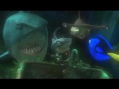 "On of my favorite scenes from ""Finding Nemo"" - Fish are friends, not food!"