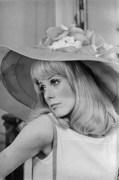Catherine Deneuve in the film 'Les Demoiselles de Rochefort', 1967. Directed by Jacques Demy