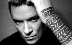 Liam Howlett from Prodigy / black wrist sleeve tattoo