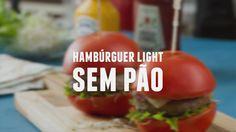 Hambúrguer light sem pão    Dicas de Bem-Estar - Lucilia Diniz