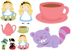 Images of Alice in Wonderland Babies. Alicia Wonderland, Alice In Wonderland Birthday, Baby Party, Tea Party, Expecting Baby, Blogger Templates, Kids Cards, First Birthdays, Pikachu