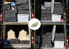 How much luggage will fit inside a luxury sprinter van? #youwillbesurprised #gobriiliant