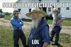 How the Amish handle a power outage