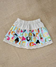 Another great find on #zulily! Aqua Under the Sea Skirt - Infant & Girls #zulilyfinds