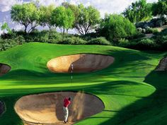 Escape to top vacation spot Kierland Golf Club in Scottsdale, Arizona. Nature in all it's glory spoiled by roughs.