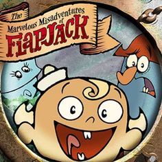 Its the cousin show to spongebob comic-wise...except twisted...The Marvellous Misadventures of Flapjack