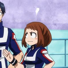 My hero academia deku gif 10 My Hero Academia Mina, My Hero Academia Memes, Hero Academia Characters, Buko No Hero Academia, Anime Characters, Chica Anime Manga, Kawaii Anime, Uraraka Cosplay, Fanarts Anime