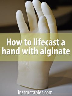 Lifecasting is making a mold of a living body. Learn how to make a wax casting of your hand! Plaster Hands, Plaster Art, Plaster Crafts, Concrete Crafts, Concrete Projects, Concrete Planters, Hand Molding, Diy Molding, Molding Ideas