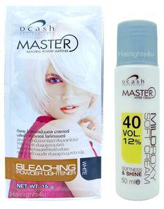 how to make bleach shampoo