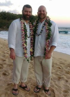 Heath & Christopher got married today August 16th