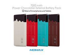 Momax iPower Chocolatier External Battery Pack - 7000mAh