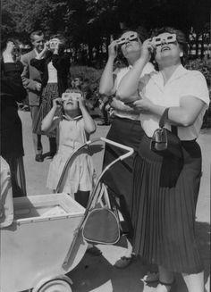 Solförmörkelse i Sverige 1954. 50-talet - Generationerna
