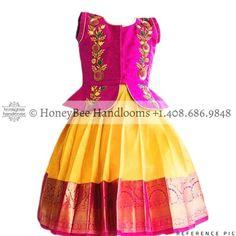 Kids Dress Wear, Kids Gown, Kids Wear, Baby Dress, Indian Dresses For Kids, Dresses Kids Girl, Kids Outfits, Baby Girl Lehenga, Kids Lehenga