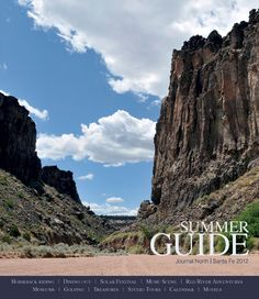 Planning summer fun in Northern New Mexico? On Sunday, in the Journal North and Journal Santa Fe make sure to check out the 2012 Summer Guide where you'll find: opera, music and museums; train and horse rides; local beer and fine dining; rock climbing and golfing; festivals, markets and tours; Explore Red River; a calendar of events and more...