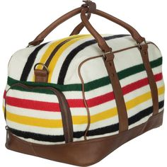 Dot & Bo Atherton Travel Bag by Pendleton (€270) ❤ liked on Polyvore featuring home, home improvement and cleaning