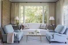 Sun Room by Wendy Labrum Interiors, LLC. #wendylabruminteriors #practicalstyle #tangibledesign