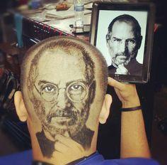 Barbero artista - peluquero artista - hair artist barber | www.curiosithings.com/es/barbero-peluquero-barber/
