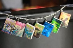 Mini Book Jewelry (Pic heavy) - And Tutorial! - JEWELRY AND TRINKETS