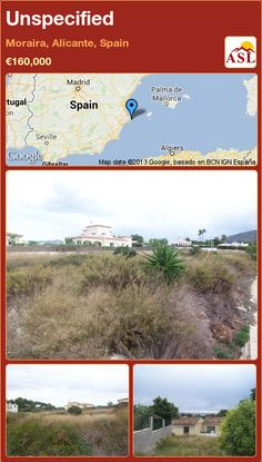 Unspecified in Moraira, Alicante, Spain ►€160,000 #PropertyForSaleInSpain