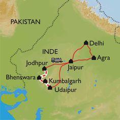 Rajasthan à vélo