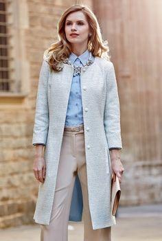 Deluxe By Lts: Longline Tweed Jacket