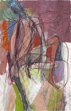 Toshihiko Okuya, study #047 on ArtStack #toshihiko-okuya #art