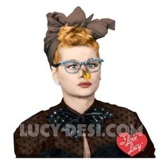 Lit Nose Lucy Note Card