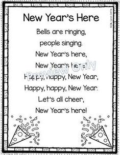 New Years Poem for Kids