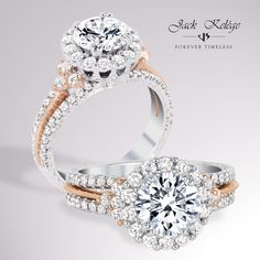Love is one step closer with this #OneOfAKind #JackKelege #engagement ring! Style: KGR 1085