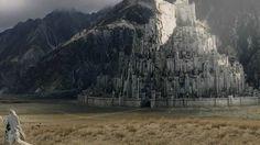 Un projet fou pour reconstruire une ville du Seigneur des anneaux [La ville de Minas Tirith. Crédit : screen YouTube, Le Seigneur des Anneaux]. #crowdfunding #indiegogo