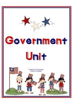 This Government unit focuses on the 3 Branches of Government and contains 73 pages. It has a simulated activity for students to act out how a bill ...