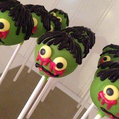 12 Zombie Cake Pops Apocalypse Party by ChasingPinkFireFlies