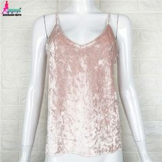 New Sexy Womens Crop Tops Sleeveless Deep Chiffon Camis Clothes Tops Off Shoulder Womens gallus Tank Tops