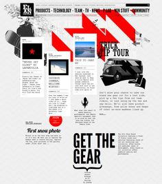 Best Web Design. Studio VBG created this modern website for Elan Snowboards in 2010. The website design is focused on a simplified layout and a new way of