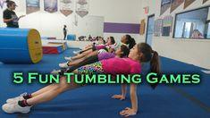 5 Tumbling Games To Make Practices More Fun Gymnastics Games, Gymnastics Warm Ups, Gymnastics Lessons, Preschool Gymnastics, Gymnastics Floor, Gymnastics Tricks, Tumbling Gymnastics, Gymnastics Coaching, Gymnastics Training