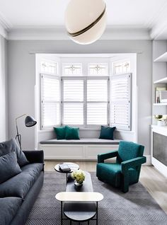 DRF Residence designed by Mim Design to create a stunning internal transformation of a dark Edwardian home with cramped, unusable spaces, into a modern sanctuary Lounge Room, Room Design, Interior Design, Living Room Decor, Discount Bedroom Furniture, Front Room, Interior, Living Room Designs, Room