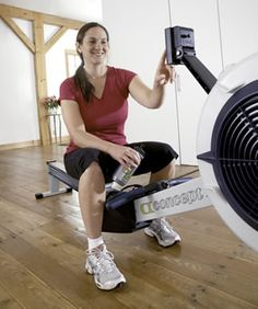 24 Rowing Workouts & Logbook (the rowing machine is a new favorite of mine!)