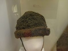 Irish wool hat found in a bog, 14th-15th century, National Museum of Ireland