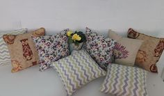 Scatter Cushions, Throw Pillows, Interiors, Bed, Home, Cushions, Small Cushions, Stream Bed, Decorative Pillows