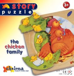 3 Layers Story Puzzle-farm Chichen Family >>> This is an Amazon Affiliate link. More info could be found at the image url.