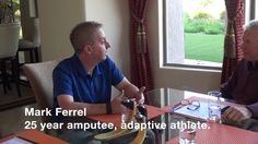 A RUSH™ Foot Round Table discussion featuring Mark Ferrell, adaptive ath...