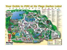 Six Flags Darien Lake Theme Park Darien Lake Lake Theme Theme Park