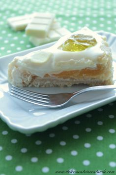 Dolcemente Inventando ovvero i pasticci di Ale: Torta al cioccolato bianco, aloe vera e lime di Ernst Knam