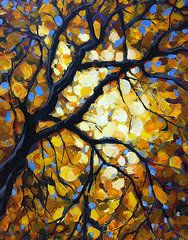 Stained Glass Tree Featured Images - Paths of One by Mary Medrano